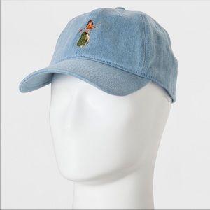 Goodfellow Hula Girl Hat Denim Adjustable NWT